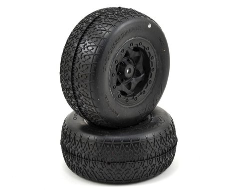 AKA Chain Link Wide SC Pre-Mounted Tires (SC5M) (2) (Black) (Ultra Soft)