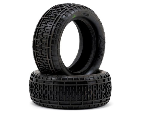"""AKA Rebar 2.2"""" Front 4WD Buggy Tires (2) (Soft)"""