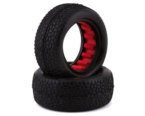 """AKA Scribble 2.2"""" Front 4WD Buggy Tires (2) (Ultra Soft)"""