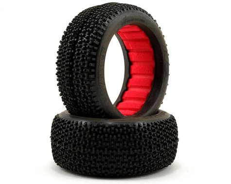 AKA Cityblock 1/8 Buggy Tires (2) (Medium - Long Wear)