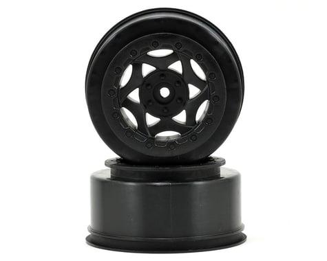 AKA 12mm Hex Cyclone Short Course Wheels (Black) (2) (SC6/Slash/Blitz)