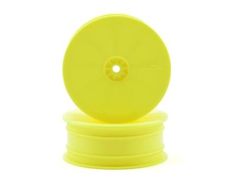 "AKA 12mm Hex ""HEXlite"" 2.2 Front Wheels (2) (B6/RB6) (Yellow)"