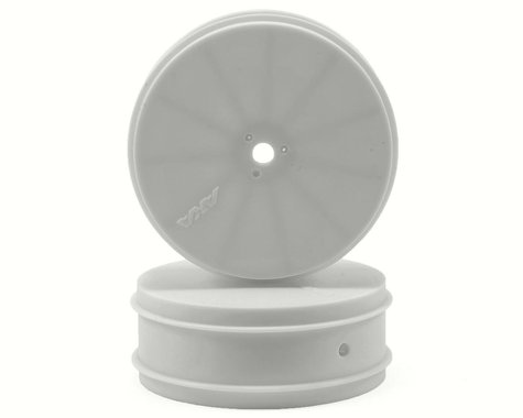 "AKA 10mm Hex ""EVO"" Front Wheels (2) (TLR 22) (White)"