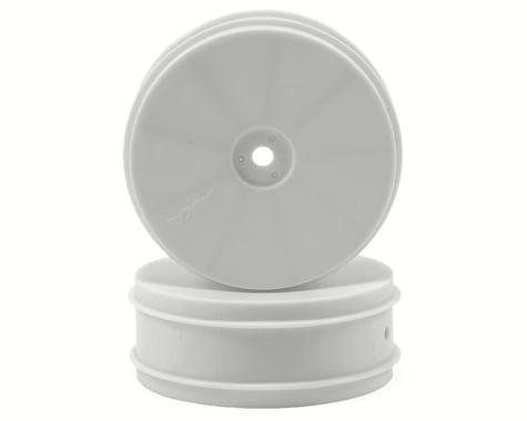 "AKA 12mm Hex ""EVO"" Front Wheels (2) (B6/RB6) (White)"