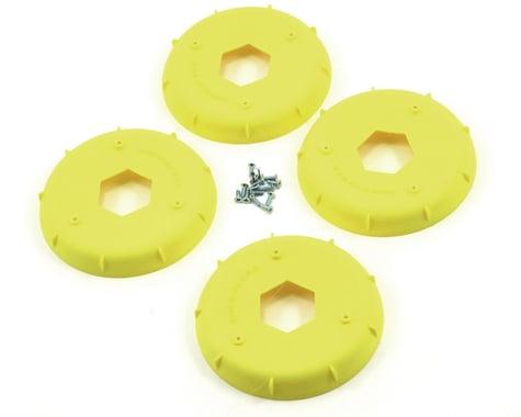 AKA EVO 1/8th Wheel Stiffener (Yellow) (4)