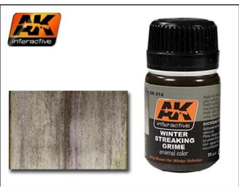 AK Interactive Winter Streaking Grime Enamel Paint 35ml Bottle