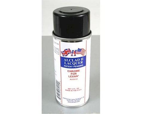 Alclad II Lacquers Chrome Lacquer Lexan Spray Paint (3oz)