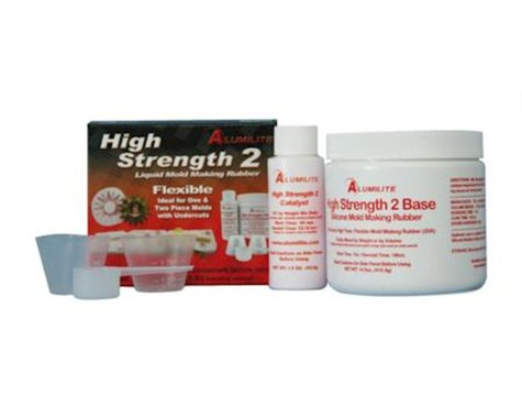 Alumilites High Strength 2 Flexible Mold Casting Kit