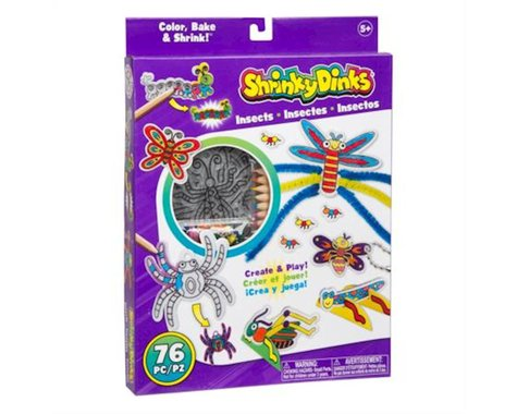 Alex Toys 397I Craft Shrinky Dinks - Insects