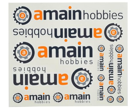 AMain Hobbies Color Sticker Sheet