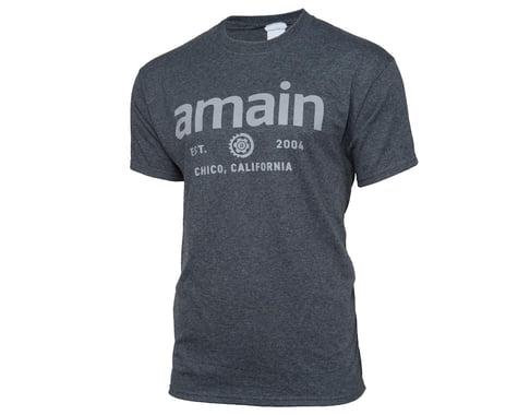 AMain Short Sleeve T-Shirt (Dark Heather) (3XL)