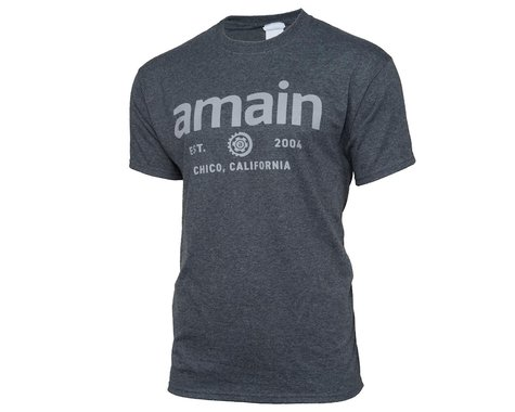 AMain Short Sleeve T-Shirt (Dark Heather) (M)