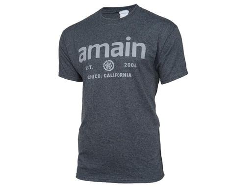 AMain Short Sleeve T-Shirt (Dark Heather) (S)