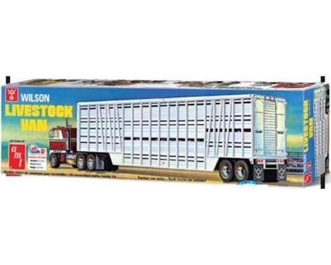 AMT 1 25 Wilson Livestock Van Trailer