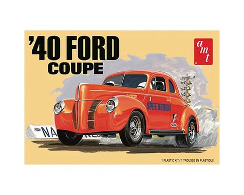 AMT 1/25 1940 Ford Coupe 2T