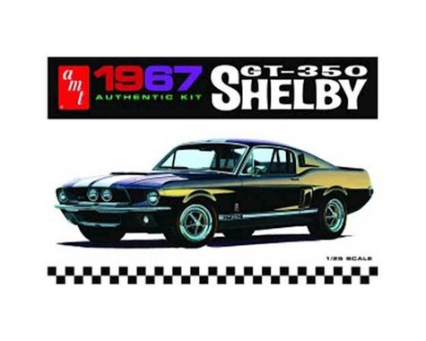 AMT 1/25 '67 Shelby GT350, White