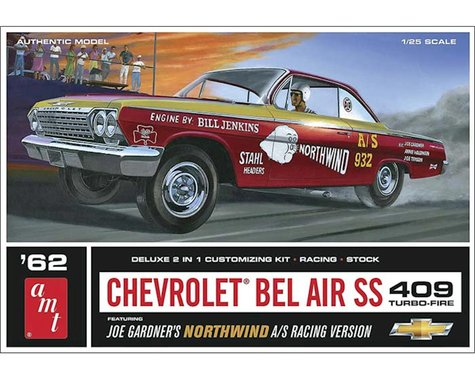 AMT Amt  1/25 1962 Chevy Bel Air Super Stock