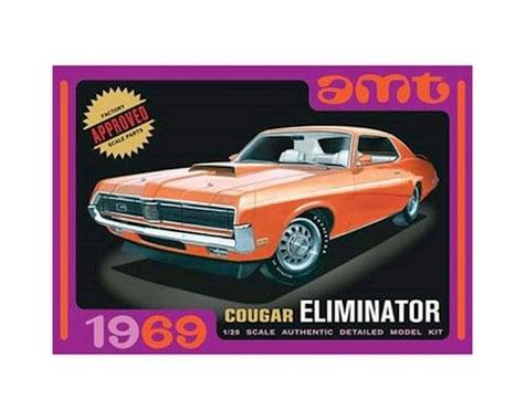 AMT 1/25 1969 Mercury Cougar Orange