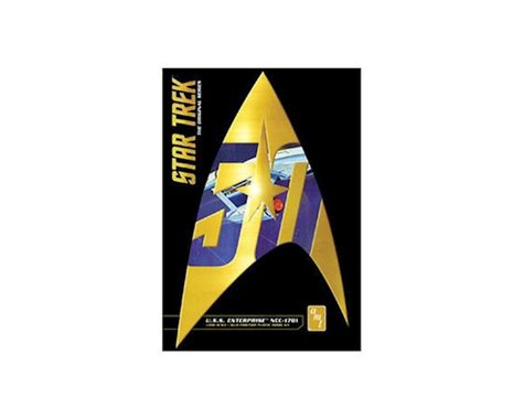 AMT Star Trek Classic USS Enterprise NCC 1701 50th Anniversary 1/650 Model Kit