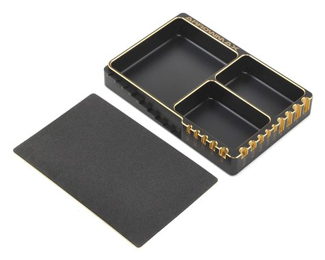 AM Arrowmax Aluminum Black Golden Parts Tray