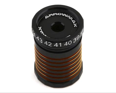 AM Arrowmax Black Golden Aluminum Ride Height Gauge (30-45mm)