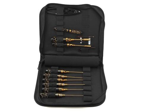 AM Arrowmax Black Golden 1/10 Offroad Tool Set w/Tool Bag (12)