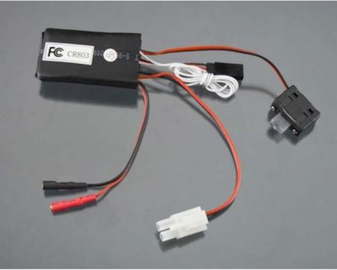 AquaCraft Receiver ESC A4 with On Off Switch: Mini Rio