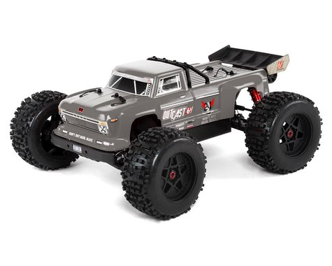 Arrma Outcast 6S BLX Brushless RTR Monster Stunt Truck (Silver) (V4)