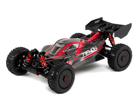 Arrma Typhon 6S BLX Brushless RTR 1/8 4WD Buggy (Red/Black) (V4)