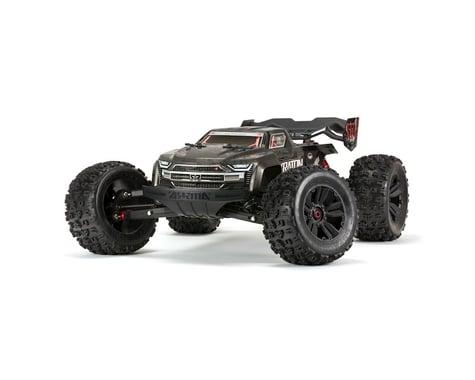 Arrma Kraton 1/8 EXB EXtreme Bash Roller 4WD Monster Truck (Black)