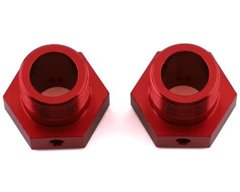 Arrma 8S BLX Aluminum 24mm Wheel Hex (Red) (2)