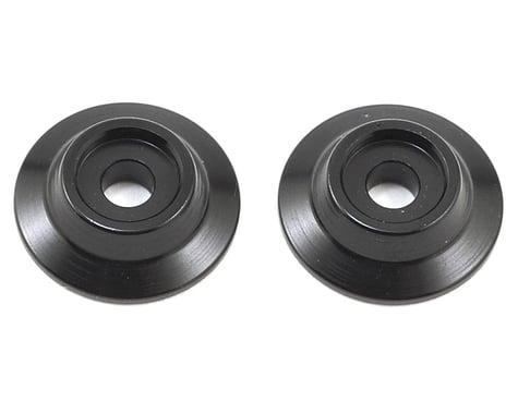 Arrma Aluminum Wing Buttons in Black ARAAR320216