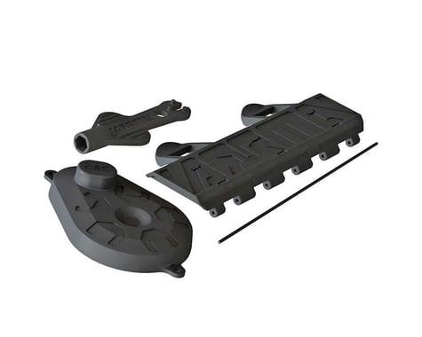 Battery Door Gear Cover Shock Tool: Voltage