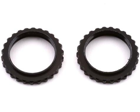 Arrma 6S BLX Aluminum Shock Collar (Black) (2)