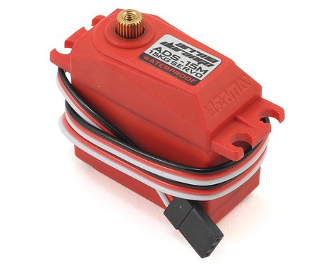 Arrma ADS-15M V2 Waterproof Servo (Red)