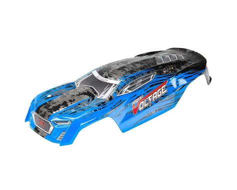Arrma Painted Body with Decals, Blue/Black: Fazon Voltage