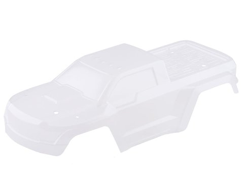 Arrma Body with Decals, Clear: Granite 4x4