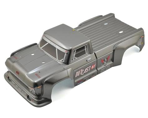 Arrma Outcast 6S BLX Pre-Painted Body (Dark Silver)