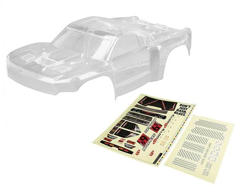 Clear Body with Decals: Senton 6S BLX