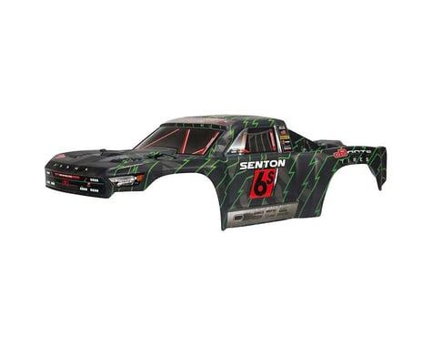Arrma Senton 6S Painted BLX Body Black/Green ARAAR406144