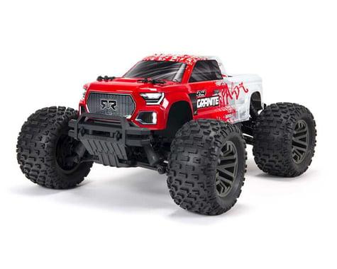 Arrma Granite 4X4 V3 3S BLX 1/10 RTR Brushless 4WD Monster Truck (Red)