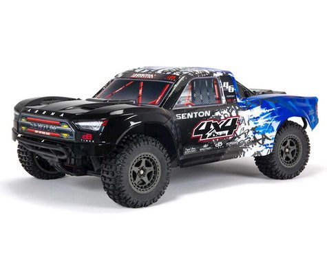 Arrma Senton 4X4 V3 3S BLX 1/10 RTR Brushless Short Course Truck (Blue)