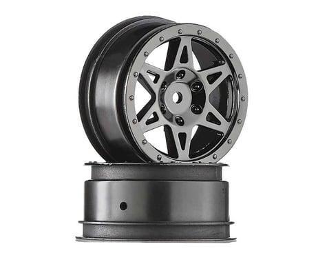 Wheel Front, Black Chrome: Raider