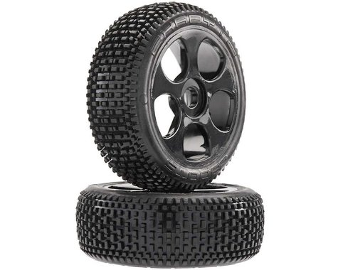 Exabyte BGY 6S Tire Wheel Glued Black (2)