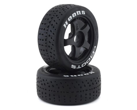 Arrma DBoots Hoons 42/100 2.9 Belted 5-Spoke Premounted Tires (2) (White)