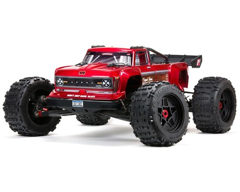 Arrma Outcast 8S BLX Brushless RTR 1/5 4WD Stunt Truck (Red)