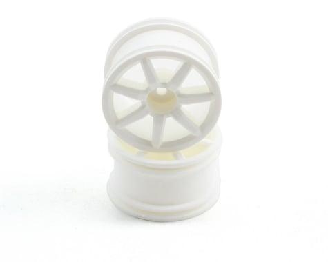 Team Associated Spoked Wheels (18R) (2) (White)