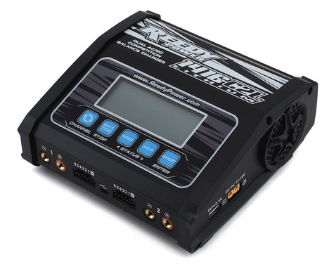Reedy 1416-C2L Dual AC/DC Competition LiPo/NiMH Battery Charger (6S/14A/130Wx2)