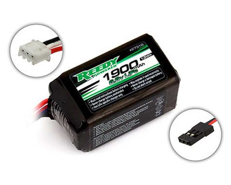 Reedy LiFe Hump Receiver Battery Pack (6.6V/1900mAh)