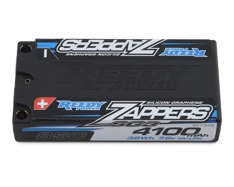 Reedy Zappers HV SG3 2S Low Profile Shorty 85C LiPo Battery (7.6V/4100mAh)
